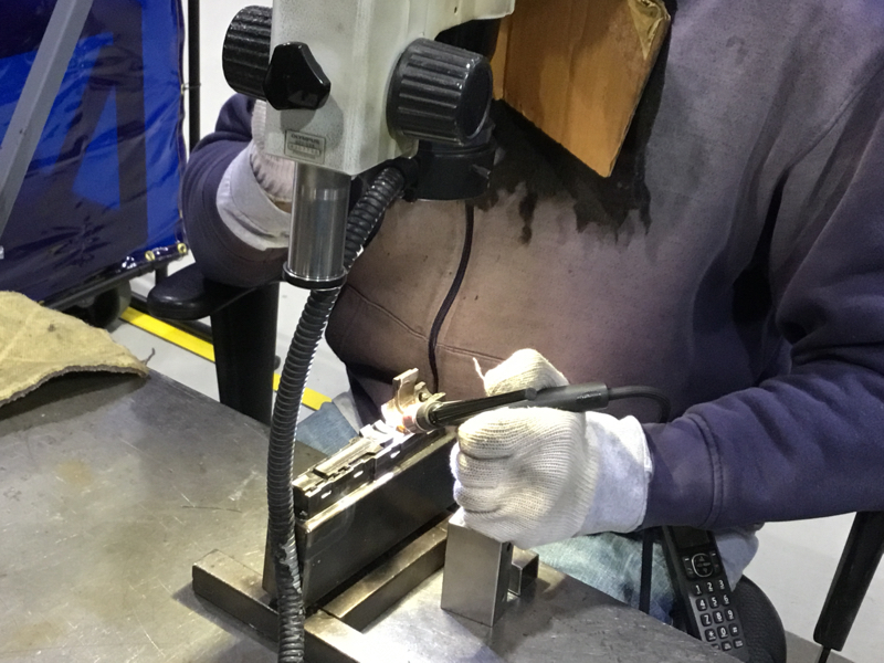tool and die repair welding